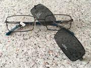 Brille Sonnenbrille mit Etui Calvin