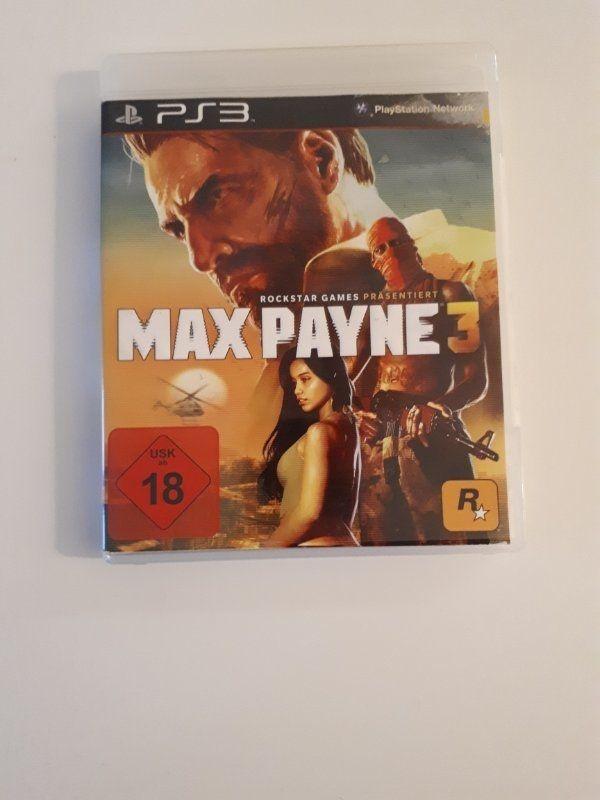 Max Payne 3 Bluray PS3