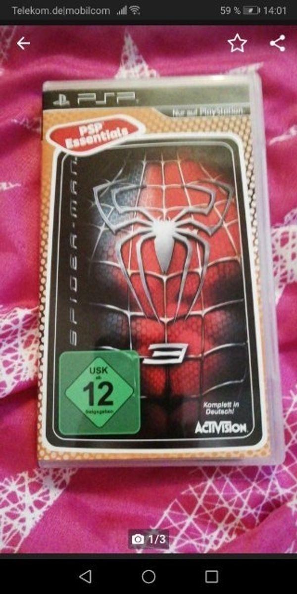 psp spiel Spiderman