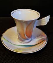 Kaffetasse von Rosenthal mit Kuchenteller