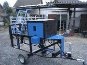 Holzspalter HSL-12T Langholzspalter PKW-Anhänger Diesel