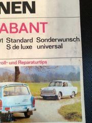 Ich fahre einen Trabant Reparaturbuch