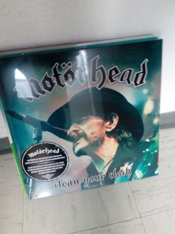 Motörhead Schallplatte Unbespielt ungeöffnet