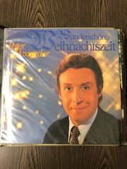 12 LPs Schallplatten für Weihnachten