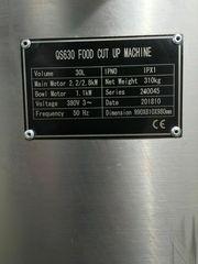 Wurst- Fleischkutter 30 Liter 380