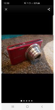 SONY Cyber-Shot Digitalkamera metallic pink