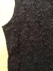 Minikleid schwarze Spitze 152 158