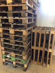 Europaletten Einwegpaletten aus Holz 120x80cm