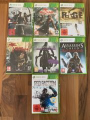 Microsoft XBOX 360 Spiele Sammlung