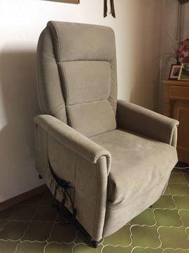 Polster, Sessel, Couch - hochw Relax- Seniorensessel mit elektrischer