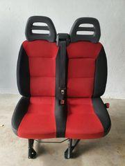 Doppelsitzbank Fiat Ducato