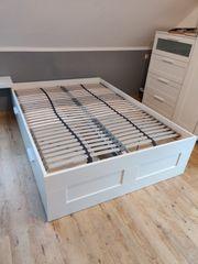 Bett 140x200cm IKEA Brimnes mit