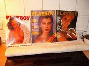 27 alte Playboy hefte aus