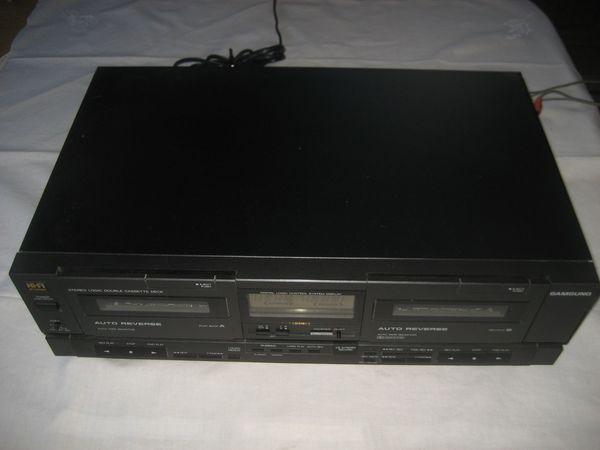 Samsung RS-1200D Double Cassetten Deck