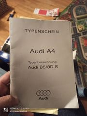 Nur Typenschein Audi