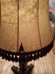 Stehlampe Eiche rustikal