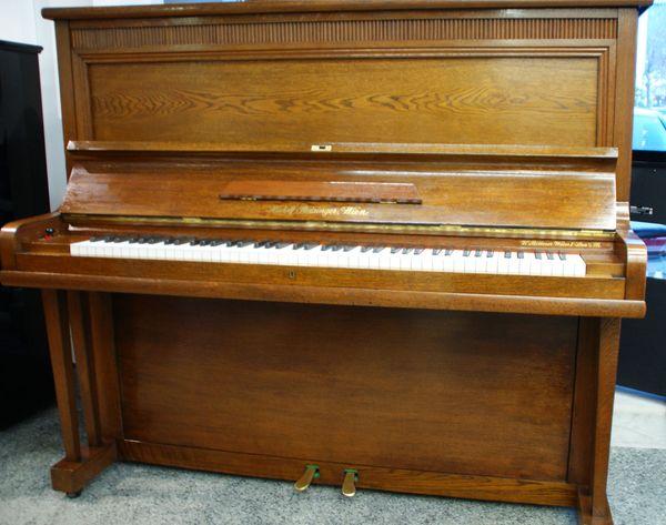 Piano gebraucht Rudolf Reisinger Eiche