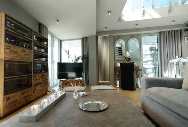 Luxus-Loft mit Dachterrasse und Pool