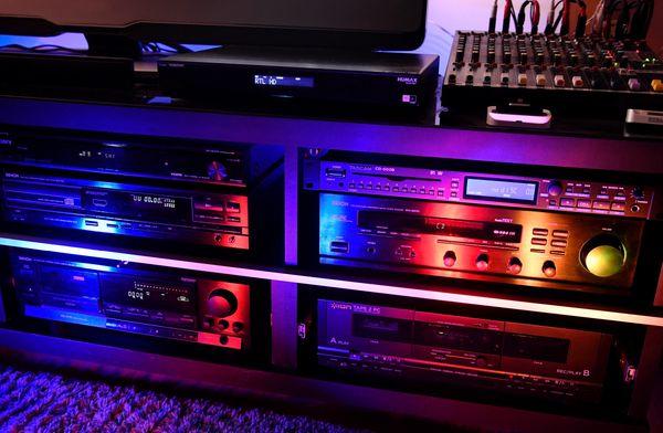 Denon Stereoanlage Radio Kassettendeck CD