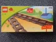 LEGO DUPLO 2734 Eisenbahn Schienen