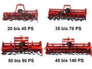Bodenfräsen Heckfräsen für Traktoren Trecker
