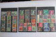 Briefmarken deutsches Reich usw 49