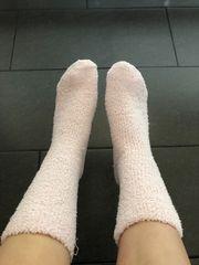 Dicke flauschige Socken