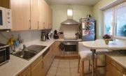 Einbauküche Ahorn-Furnier