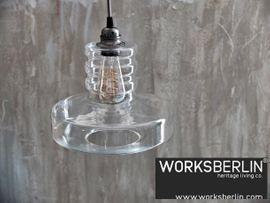 Gastronomie, Ladeneinrichtung - 70er Jahre Manufakturlampe - worksberlin com