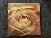 Keilrahmenbild Rose 40x40cm
