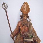 Holz Figur Hl Urban Nickolaus