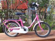 PUKY 16 Zoll Fahrrad rosa