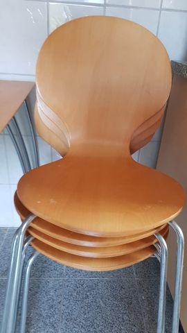 Set Tisch mit 6 Stühlen: Kleinanzeigen aus Heidelberg Neuenheim - Rubrik Speisezimmer, Essecken