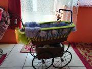 Retro Puppenwagen