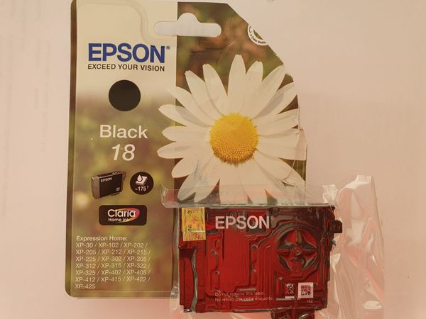 Druckerpatrone fur Farbdrucker EPSON schwarz