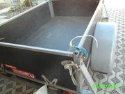 Auwärter Anhänger - 600 kg - ausziehbare Deichsel