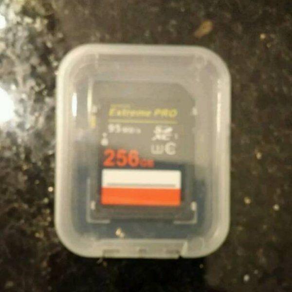256 GB SD Karte