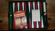 Backgammon-Spiel gebraucht sehr gut erhalten-mit