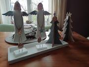 Weihnachten Deko Holz Engel Tannenbaum