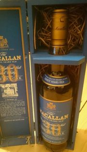 Macallan Whisky 30 Jahre Sherry