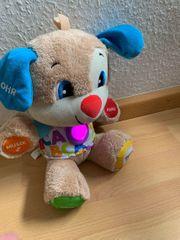 Fisher-Price Lernspaß Hündchen Baby-Spielzeug Musik