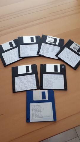 Keyboards - Midifiles auf Disketten