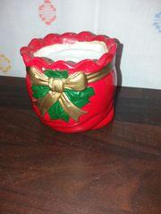 Vase Blumentopf Weihnachts Zeit