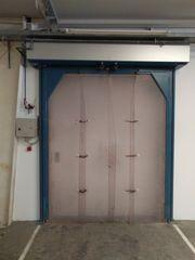 Elektro-pneumatische Schwingflügeltüre zu verkaufen