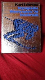 Tolles Buch Olympische Winterspiele 76