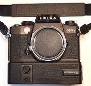 Leica R4s mit Winder