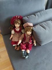Hübsches Puppenpaar Porzellan