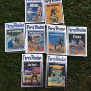 8 Stück Bücher Perry Rhodan