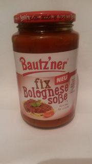 Bautzner Bolognese Soße fix und