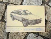 Betriebsanleitung Alfa Romeo Alfetta GTV